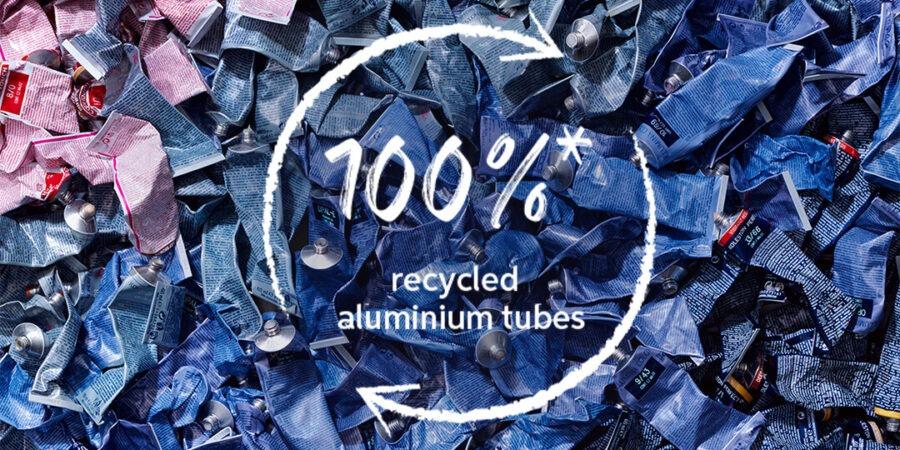 Noile tuburi de vopsea Wella Professionals sunt confecționate din aluminiu 100% reciclat