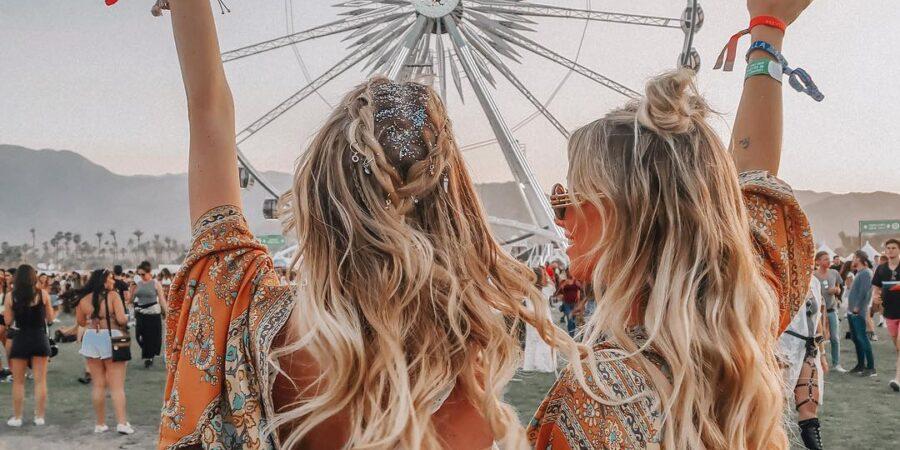 Inelele pentru păr, un must-have în sezonul festivalurilor