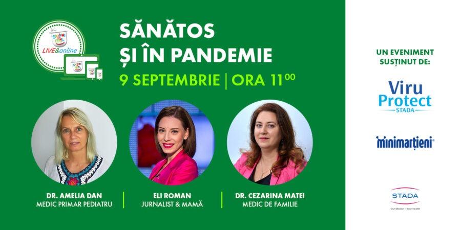 Sănătos și în pandemie by Samas & Stada România